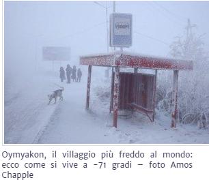 Oymyakon, il villaggio più freddo al mondo: ecco come si vive a -71 gradi