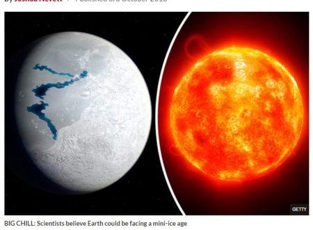"""""""Il Sole si spegnerà, era glaciale nel 2019"""": l'allarme degli scienziati"""